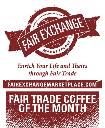 Fresh Roasted Coffee for 6 Months (Whole Bean, 1lb) by Fair Exchange Marketplace