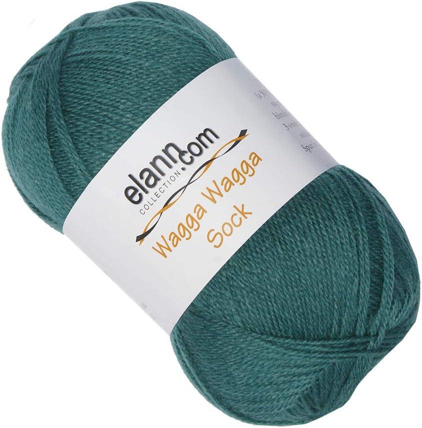 106 Buckskin 5 Ball Bag elann Wagga Wagga Sock Yarn