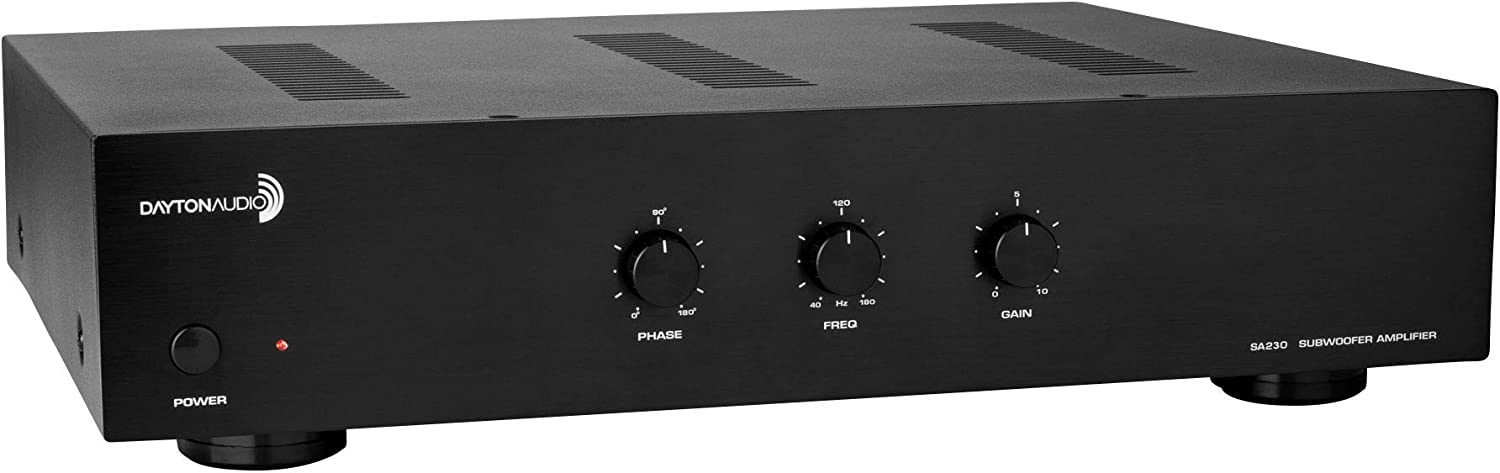 Dayton Audio SA230 230W Subwoofer Amplifier