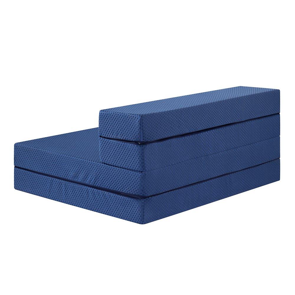Amazon.com: sleeplace 4 inch multi-foldable i-gel impregnado ...