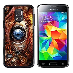 Stuss Case / Funda Carcasa protectora - Eye Technology Ai Robot Biotech Future - Samsung Galaxy S5 Mini, SM-G800, NOT S5 REGULAR!