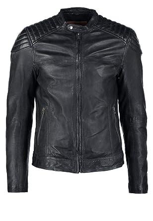 brandMe Mens Genuine Leather Pure Lambskin Biker Jacket MM158