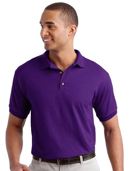 1b30b53cf7b Gildan Men's Contoured Dryblend Polo Shirt at Amazon Men's Clothing ...