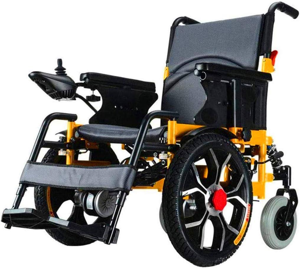 Sillas de ruedas eléctricas para adultos Silla de ruedas, silla de rehabilitación médica for la tercera edad, las personas de edad, Silla de ruedas eléctrica, marco plegable, Operadora móviles silla d