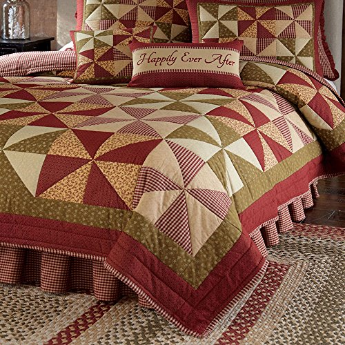 Park Designs Mill Village Queen Quilt