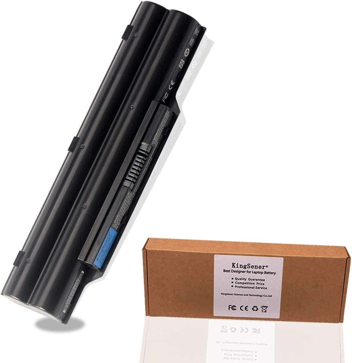 KingSener FPCBP331 Battery for Fujitsu LifeBook A532 AH512 AH532 AH532/GFX FPCBP331 FMVNBP213 FPCBP347AP 10.8V 4400mAh