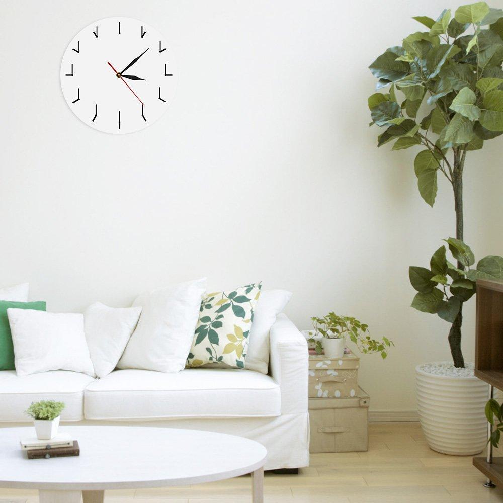 Amazon.com: The Geeky Days Simple Modern Wall Clock Redundant Clock ...
