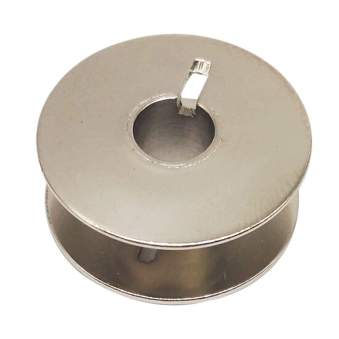 HONEYSEW 25pcs MetalL Bobbins #55623S for Bernina Brother Consew Babylock #SA159