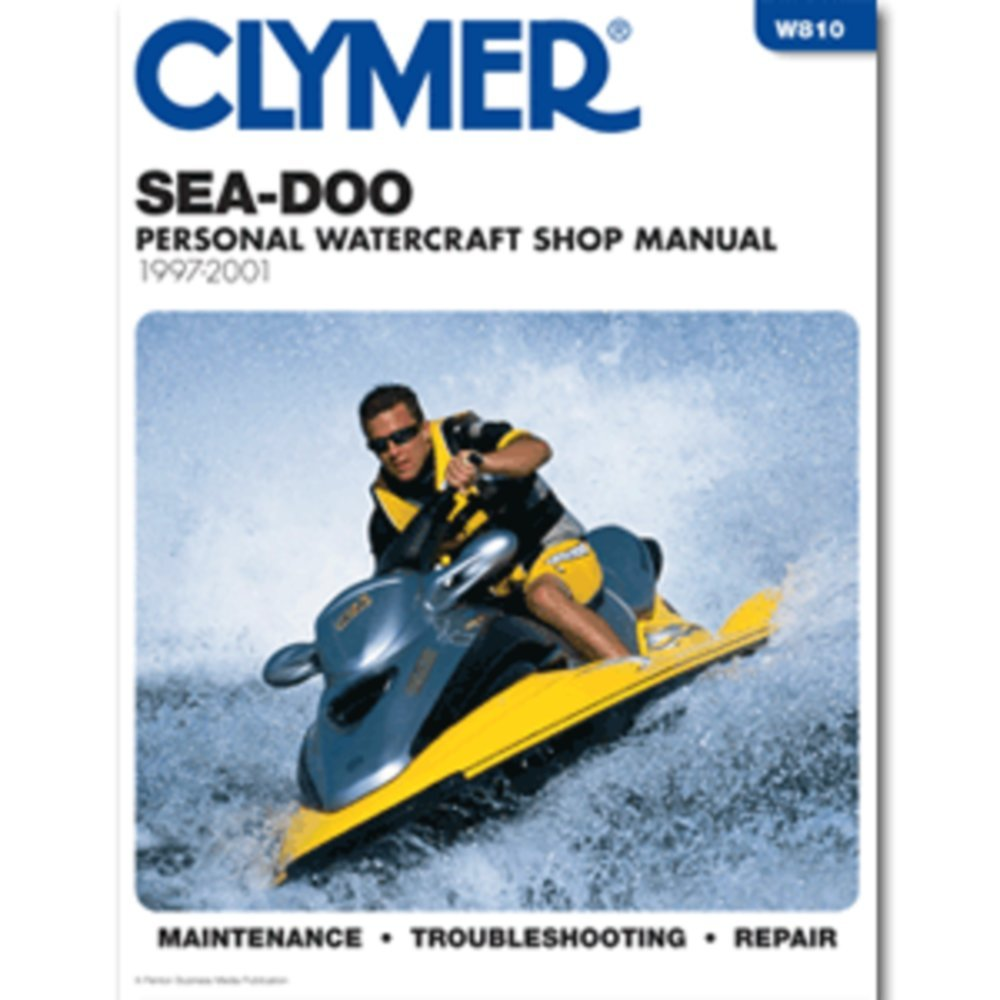 Amazon.com: Clymer Sea-Doo Personal Watercraft Shop Manual 1997-2001:  Automotive