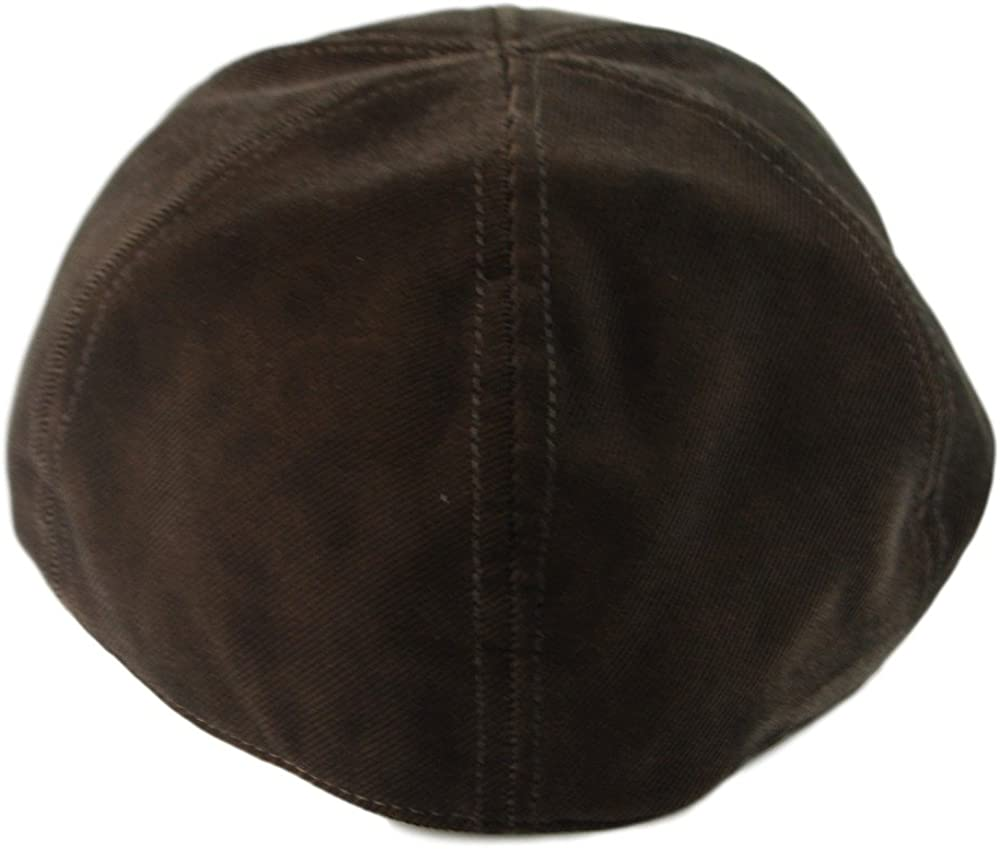 Mens Fall Winter 6pannel Duck Bill Curved Ivy Looks Velvet Hat S//M L//XL 3Colors