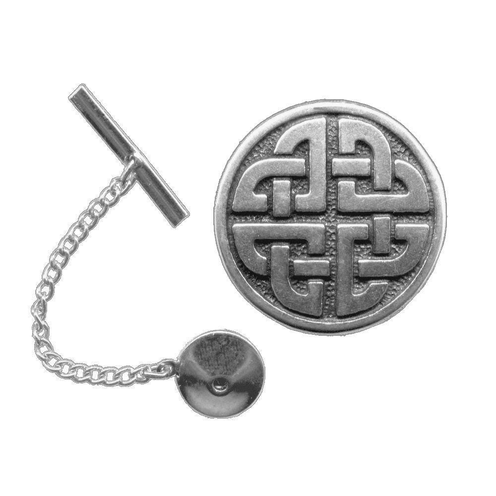 Lover's Knot Tie Tack/Lapel Pin ~ Pewter or Sterling silver