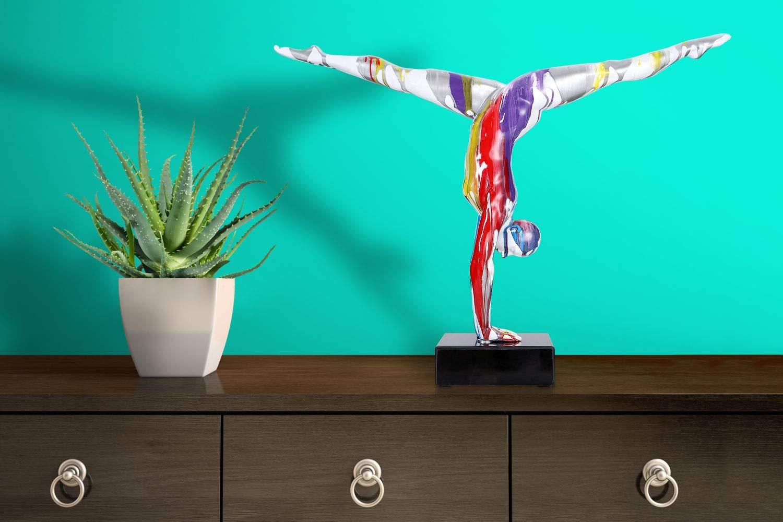 One Couture DEKOFIGUT DEKO DEKO DEKO SKULPTUR Turner Sportler Statue Splash BUNT Farbe 9c765c