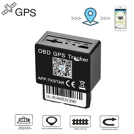 Localizador Tracker GPS GSM GPRS para Vehículos Coche Moto Control Remoto Localizador GPS para Coche OBD2