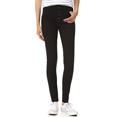 AG Adriano Goldschmied Women's Farrah Skinny Button-Front Jean: Clothing