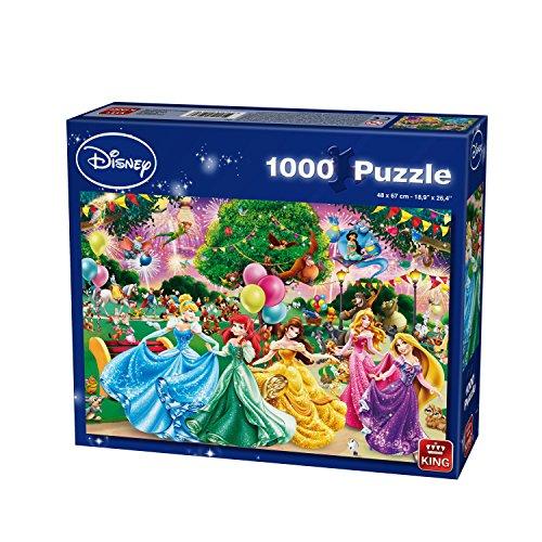 """King 13362,9cm Disney Fireworks """"Puzzle (lot de 1000)"""