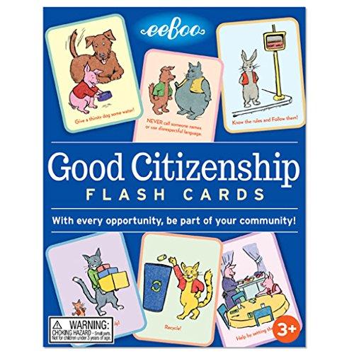 eeBoo Good Citizenship Flash Cards (Good Cards)