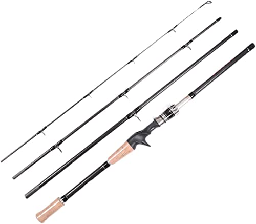 LurEra Catfish Casting Rod 2 Pieces Portable 7 Heavy Catfishing Rod
