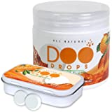 New & Improved Toilet Odor Eliminating Tablets You Drop In Before You Go- Citrus Scented Doo Drops / Drop & Go, No Waiting / 62 Flushes