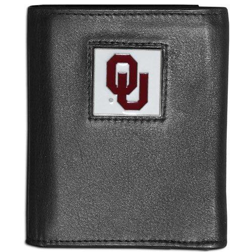 NCAA Oklahoma Sooners Leather Tri-Fold Wallet