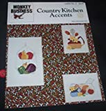 country kitchen accents monkey business leaflet no 3