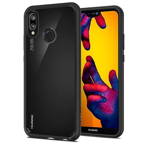 finest selection ddc25 d7709 Spigen Ultra Hybrid Designed for Huawei P20 lite Case (2018) - Black