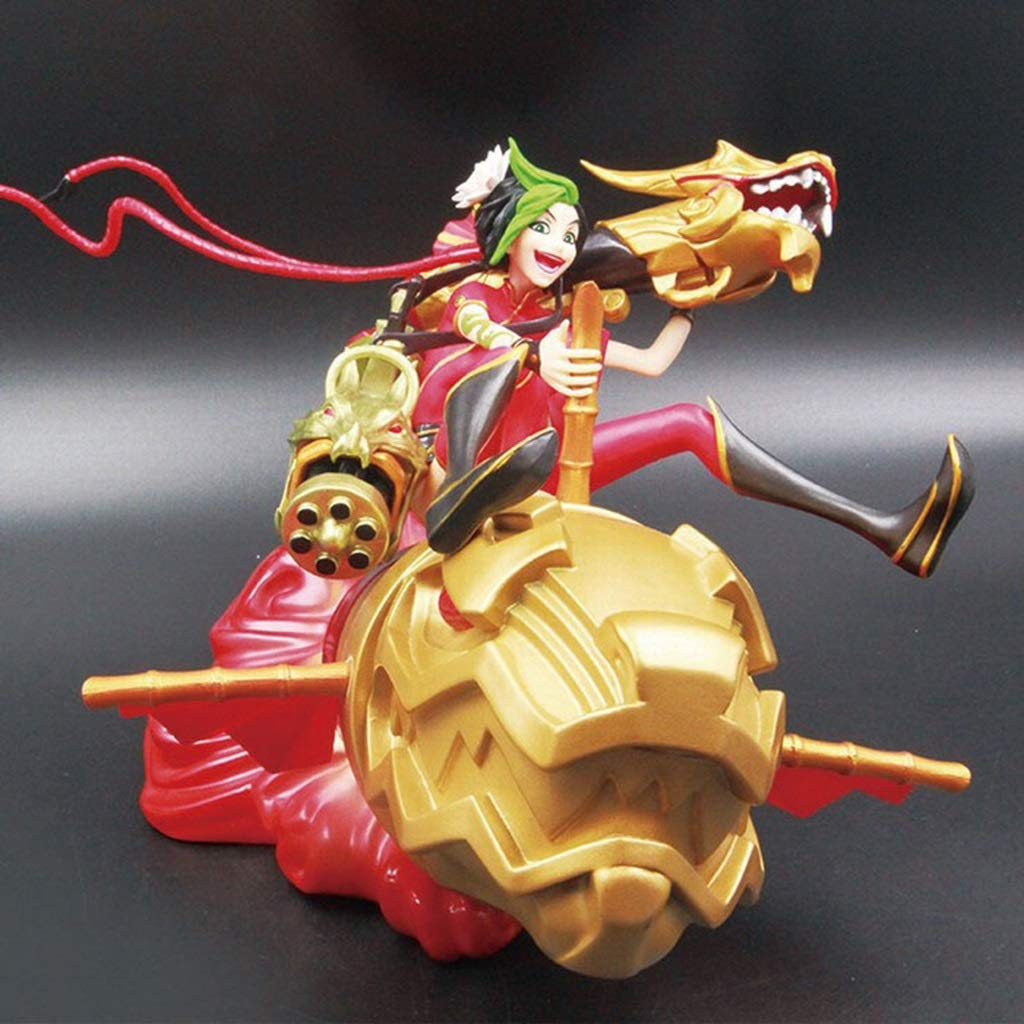 WSWJJXB League Of Legends Dragon Flames Handmade Anime Models Souvenirs Collections Crafts