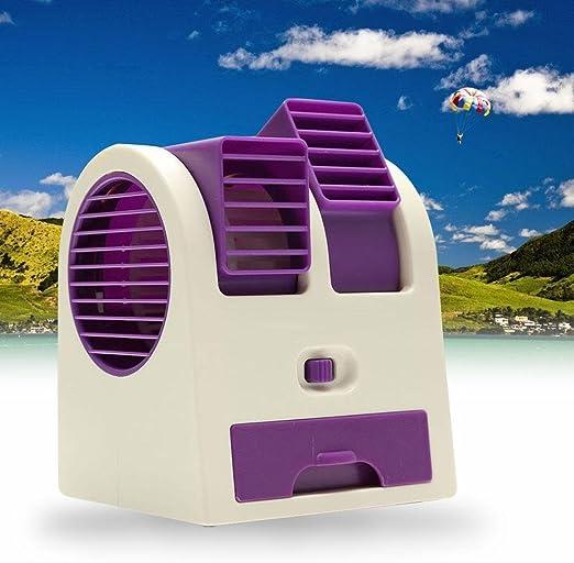 AAC Mini Ventilador de refrigeración USB Funciona con batería ...