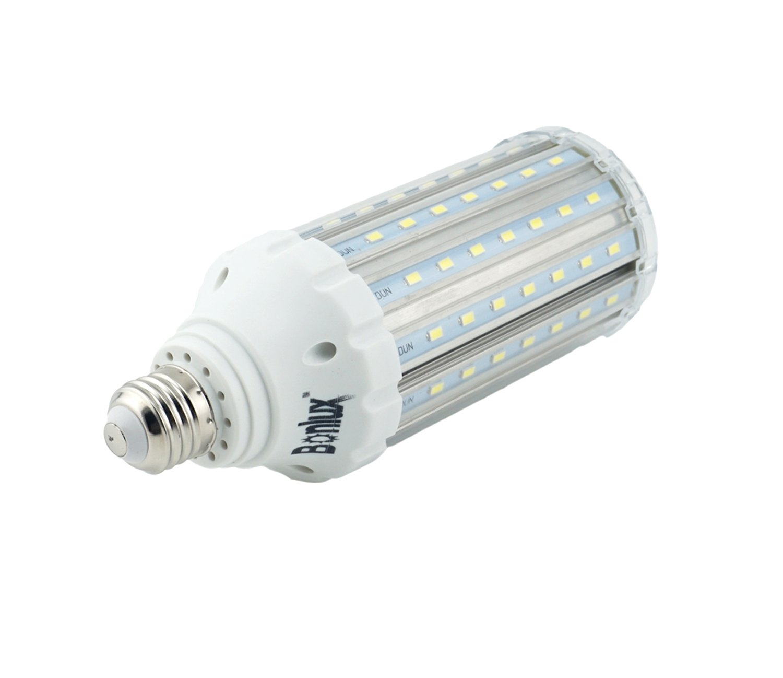 Bonlux E27 25W/30W/35W Super Brillante LED Lámpara de Maíz Luz Fría 6000K, 3500ml, 5730 SMD, Reemplazo de 200W/300W/400W Bombilla Hálogena para ...