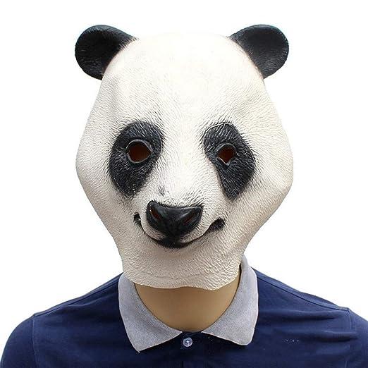 ZXJUAN Vestido Panda Animal máscara del Traje León Sombrero ...