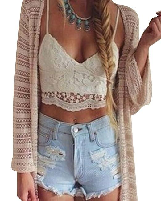 Blusas de moda en crochet