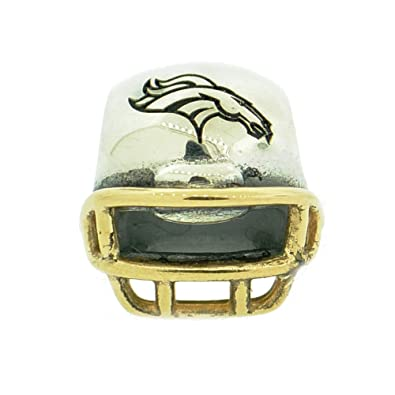 d792b6a06 Image Unavailable. Image not available for. Color: 790570-G110 Pandora  Sterling Silver NFL Football Helmet Charm ...
