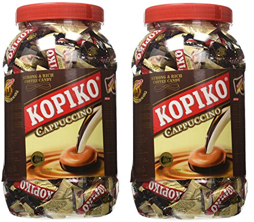 Cappuccino Candy (Kopiko Cappuccino Candy Jar, 28.2oz (Pack of 2))