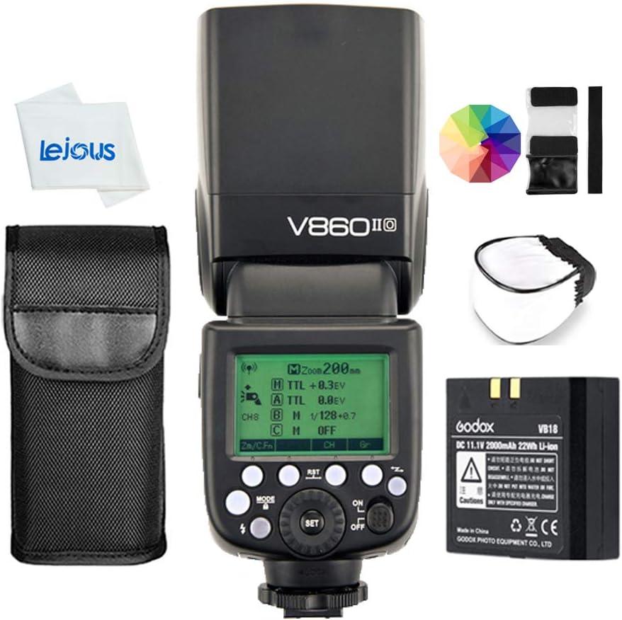 Godox V860II-O TTL 2.4G HSS 1/8000s Camera Flash Speedlite with Color Filters for Olympus E-M10II E-M5II E-M1 E-PL5 E-PL6 E-PL7 E-PL8 E-P3 E-P5 Pen-F DSLR Cameras