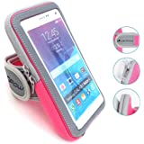 LENPOW Multifunctional Outdoor Sports Armband Sweatproof Running Armbag Casual Arm Package Bag Gym Fitness Cell Phone Bag Key Holder for iPhone X 8 7 6s 6 Plus Samsung Galaxy Note 5 4 S8 S7 Edge Plus