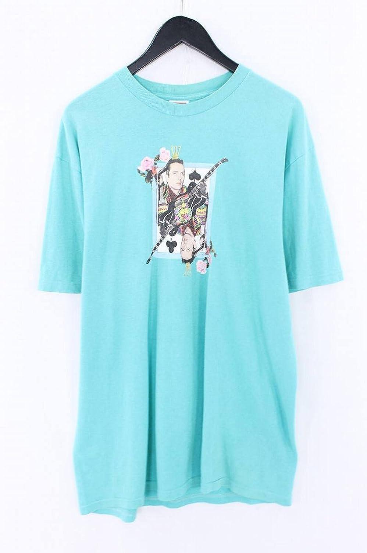 (シュプリーム) SUPREME ×クラッシュ 【10SS】【Joe Strummer Tee】ジョーストラマープリントTシャツ(L/グリーン) 中古 B07FBF1K9C  -