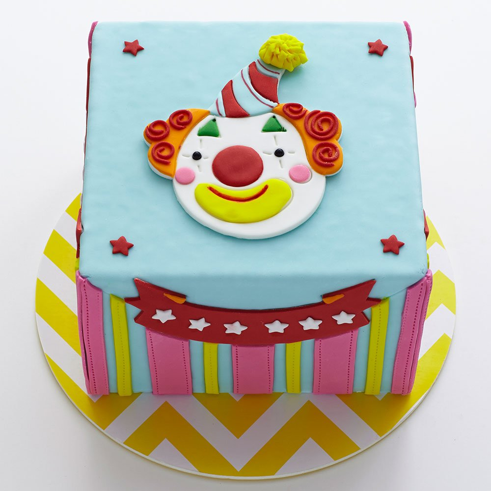 Amazon.com: Sweet Elite Tools- Circus Clown Cutter and Embosser for ...
