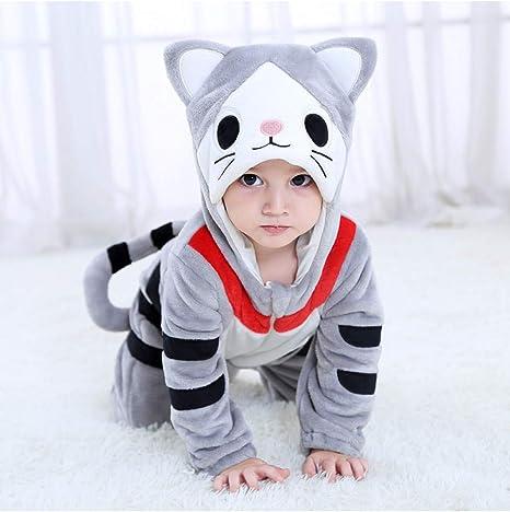 GBYAY Bebé Queso Gato Disfraz Cosplay Dibujos Animados Animales ...