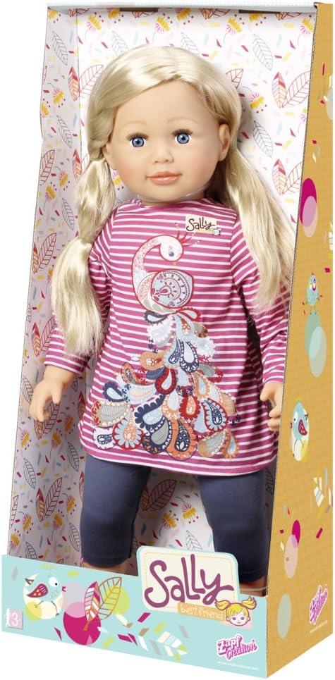 ZAPF Creation grande bambola Sally 63 cm con capelli bionda