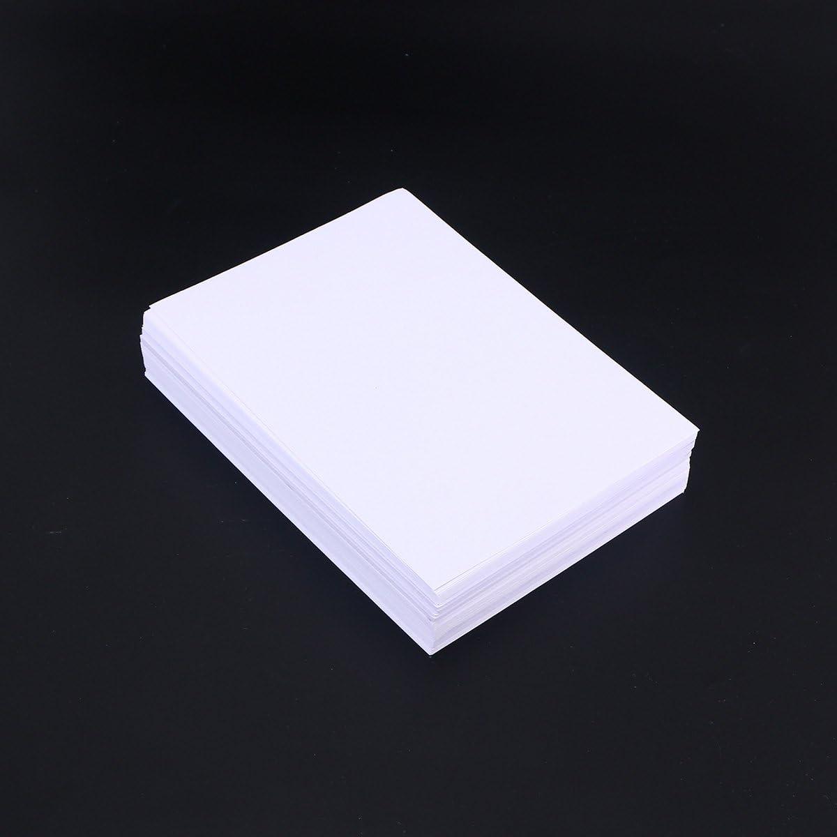 Bo/îte de fer carr/ée de papier de coton pur pour dessiner la peinture /à laquarelle et les supports mouill/és press/é /à froid 20 feuilles de papier aquarelle portatif sans acide