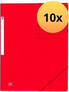 200 DIN A4-Bl/ätter in gelb 25er Pack  extrastark aus 390g Karton f/ür ca Oxford 400116207 Schnellhefter TOP FILE