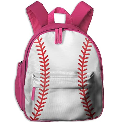 19ba3c232c09 Amazon.com  Baseball Small Backpack Cool Toddler Backpacks Kids Bags ...