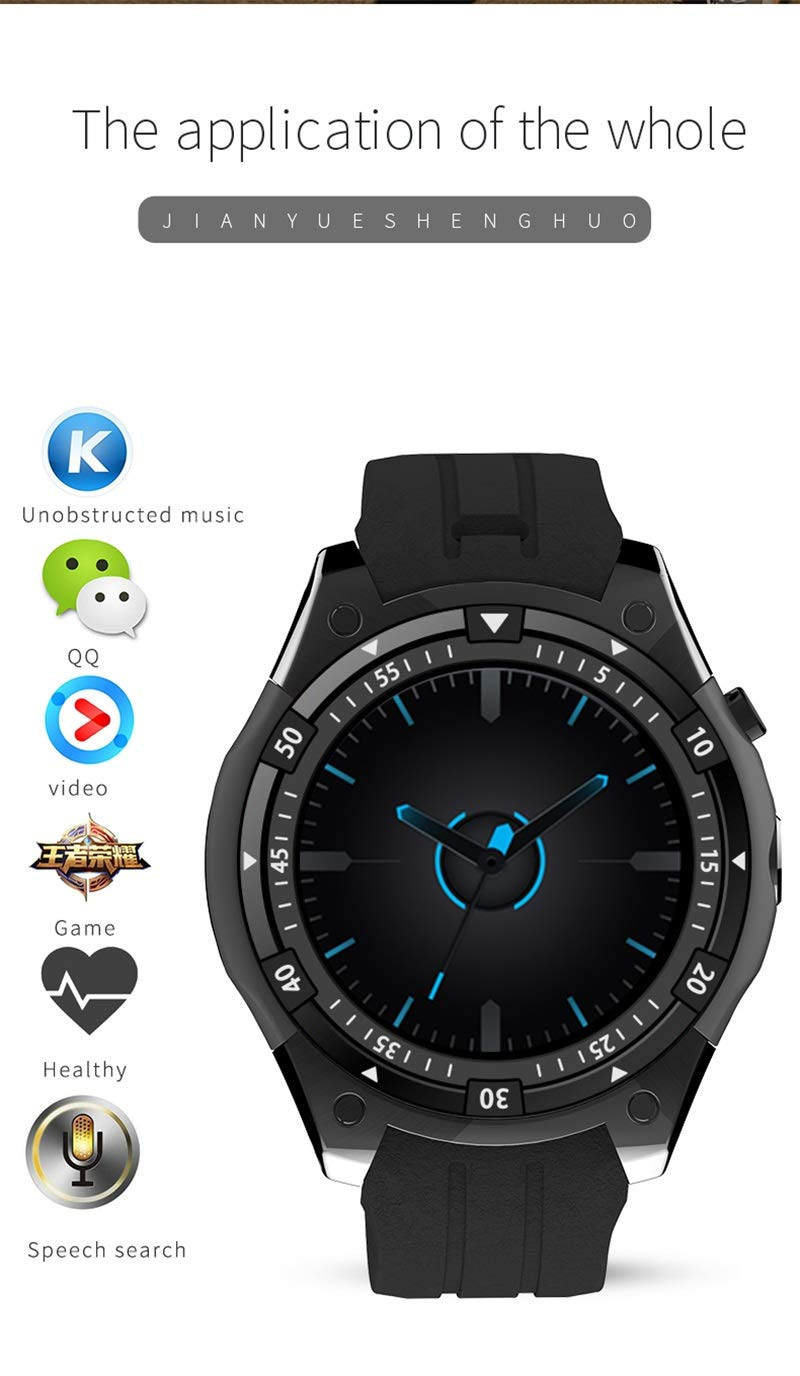 Amazon.com: 2018 Newest X100 smart watch Android 5.1 OS ...