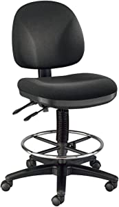 Alvin, DC310-40, Prestige Artist Drafting Chair - with 18-inch Chrome Foot Ring