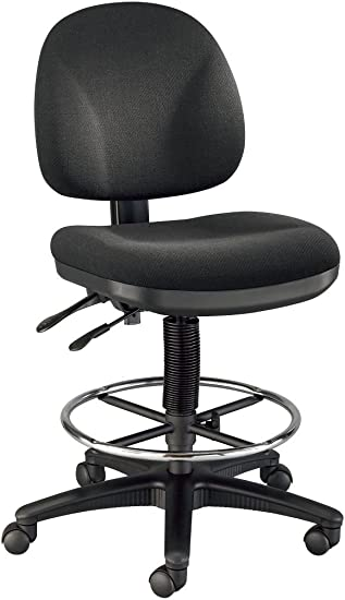 Alvin, DC310-40, Prestige Artist Drafting Chair – with 18-inch Chrome Foot Ring