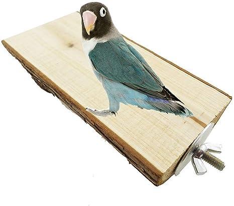 Percha de madera para juegos o ejercicios en jaula para pájaros ...