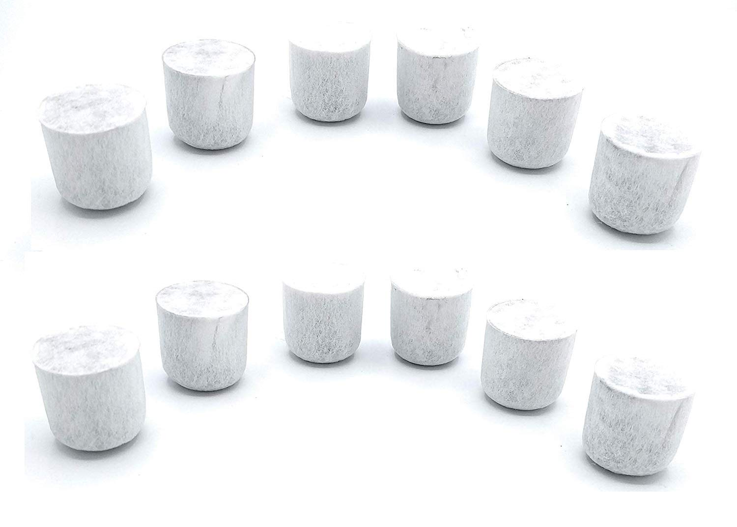 Blendin Replacement Charcoal Water Filters, Compatible with Farberware Coffee Makers (12 Pack)