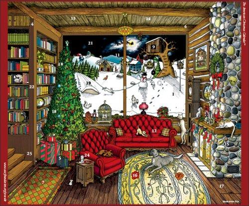 Traditional Children's Advent Calendar, Beautiful Christmas Calendar
