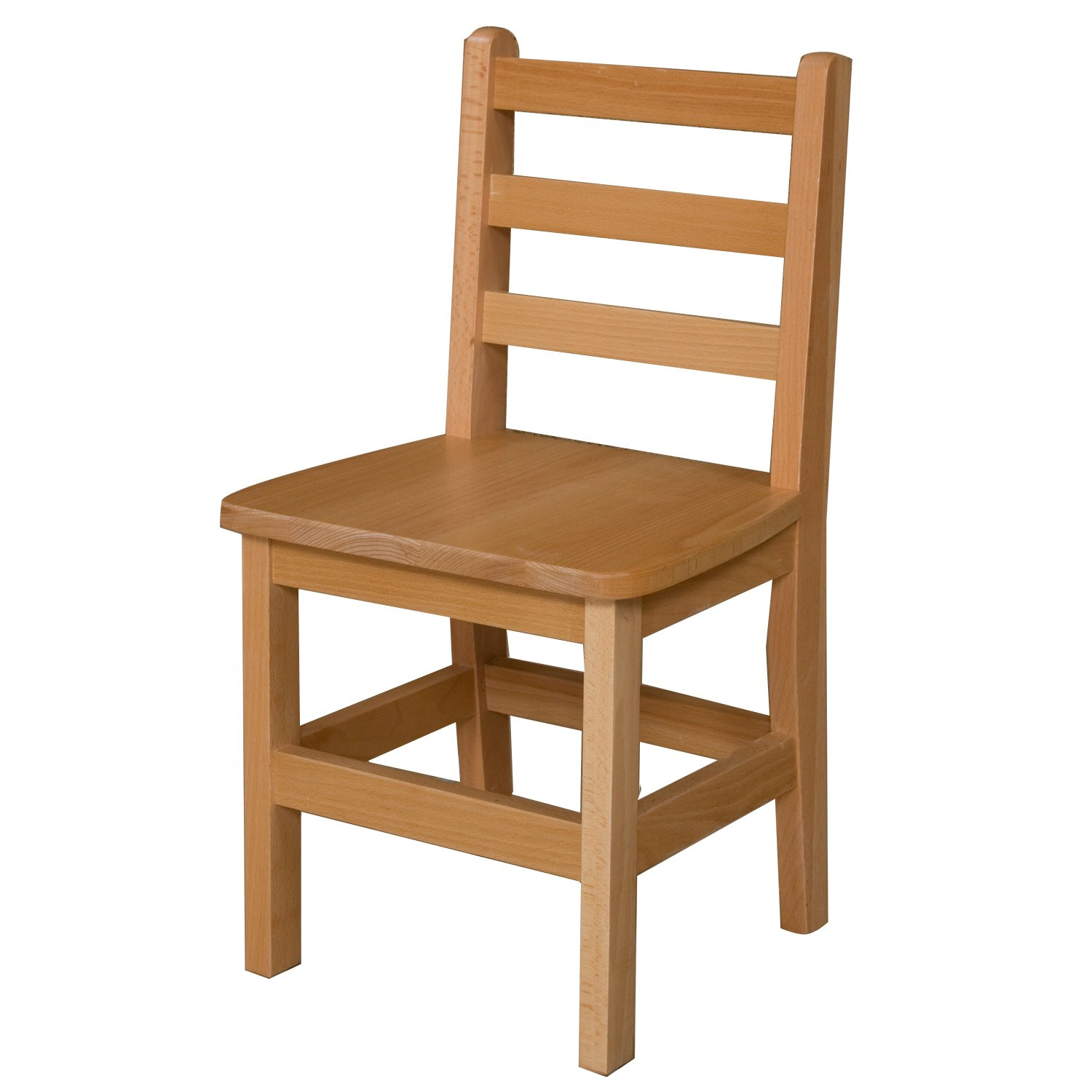 Wood Designs WD81401 Child's Chair, 14'' Height Seat, (1) Per Carton