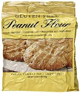 Protein Plus Peanut Flour Gluten Free -- 16 oz