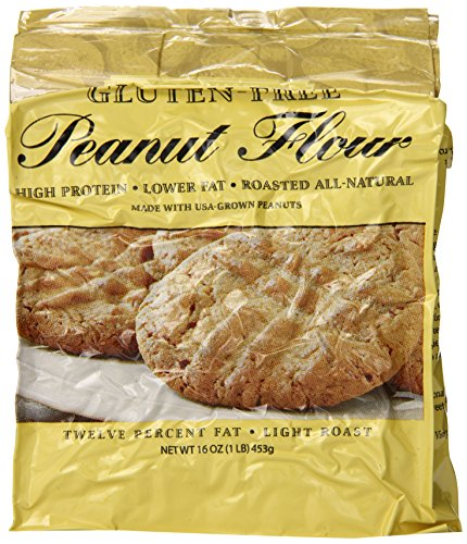 Protein Plus – Peanut Flour – Gluten Free – 16 Ounces by Protein Plus